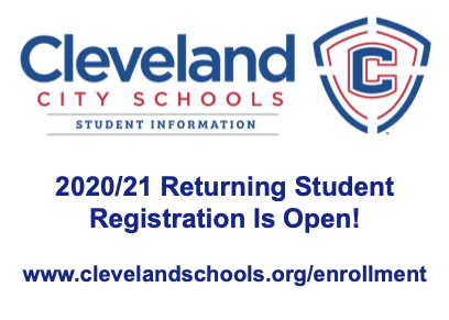 2020/21 Returning Student Registration Is Open