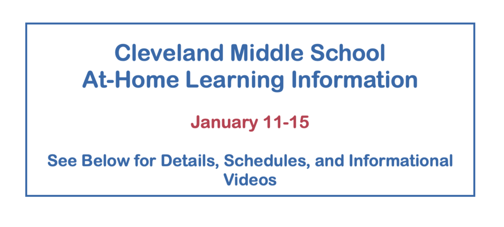 At-Home Learning Information